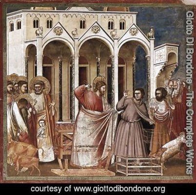 No.-27-Scenes-From-The-Life-Of-Christ-11.-Expulsion-Of-The-Money-Changers-From-The-Temple-1304