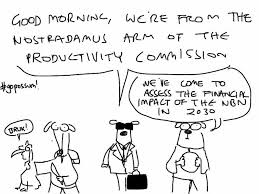 Nostradamus-arm-productivity-commission