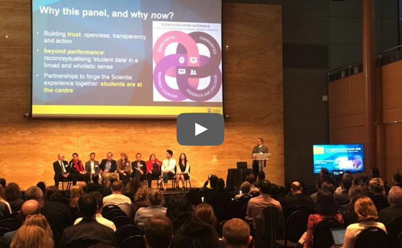 Ethical use of student data - panel debate @ The UNSW Inspired Learning Summit 2018