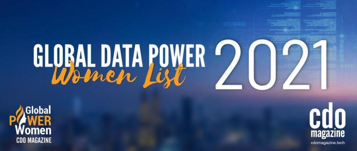 CDO Magazine 2021 List of Global Data Power Women